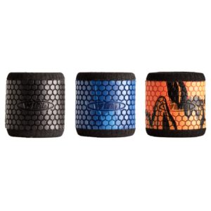 Winn Grip Reel Grip Sleeves 3-Pack Straight (Black, Blue/Camo, Gray Camo) Accessories