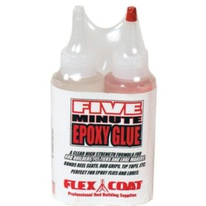 Flex Coat 5 Minute Epoxy Glue Kit Finishing Supplies