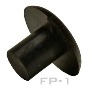 Rubber Butt Plug (6.5MM) End Caps