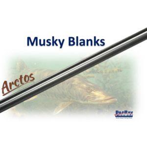 Arctos Musky Blank 8'3″ 2pc Blanks