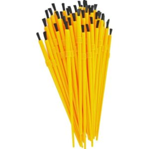 Disposable Nylon Finish Brushes Finishing Supplies