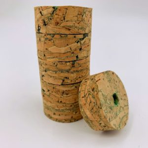Premium Burl – River Green – Cork Rings Cork Rings