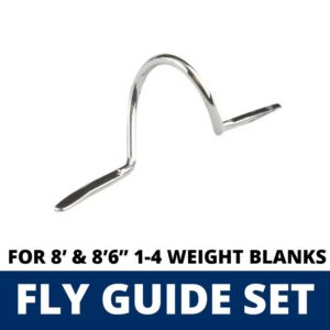 ALPS 10 Piece Fly Guide Set for 8′ & 8'6″ 1-4 Weight Blanks Guides