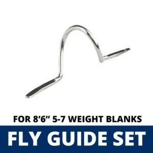ALPS 10 Piece Fly Guide Set for 8'6″ 5-7 Weight Blanks Guides