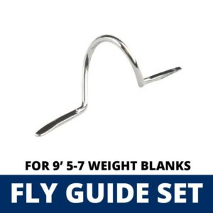 ALPS 11 Piece Fly Guide Set for 9′ 5-7 Weight Blanks Guides