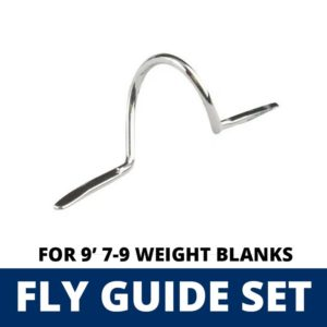 ALPS 11 Piece Fly Guide Set for 9′ 7-9 Weight Blanks Guides