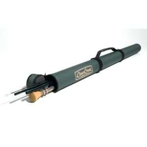 Clear Creek Cloth Covered Rod Tube with Handle Rod Tubes & Bags