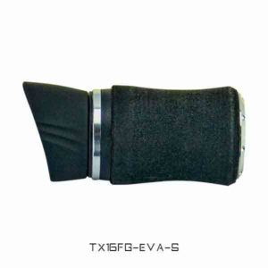 TX16 Foregrip with EVA Covering with Hood – Silver Trim Reel Seats