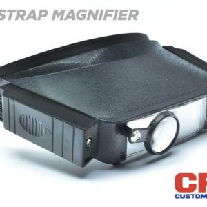 Lighted Head Strap Magnifier Components