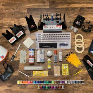 Deluxe Starter Kit for Fishing Rod Building Finishing Supplies