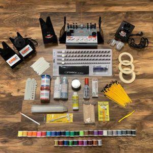 Super Starter Kit for Fishing Rod Building Finishing Supplies
