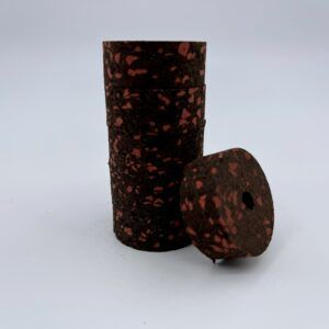 Burnt Red 1/2″ Cork Rings Components
