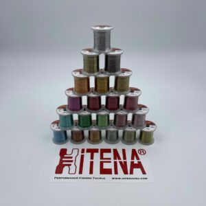HITENA – Metallic Zebra – Size A Thread